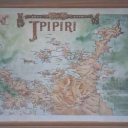ipipiri a historic map of the bay of islands