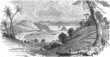 Kororareka Beach, 1844