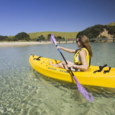 Otehei Bay Kayaking Urupukapuka Island