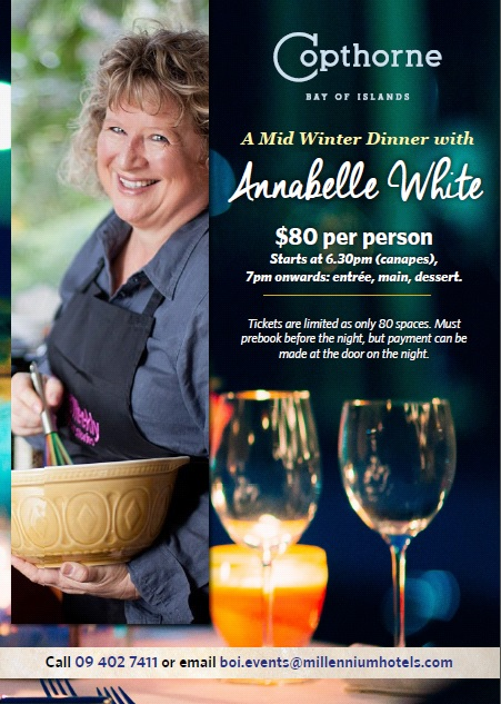 Mid Winter Dinner with Annabelle White and The Landing Wines