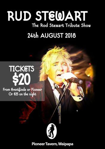 Rud Stewart – The Rod Stewart Tribute Show