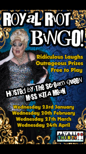Royal Riot Drag Queen Bingo