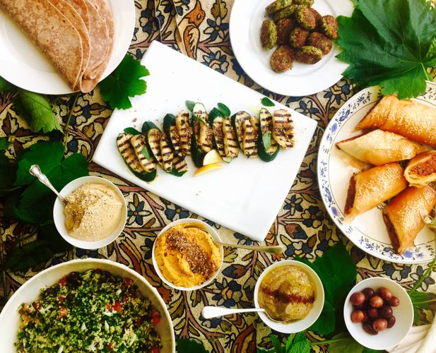 Middle Eastern Mezze Class and Meal